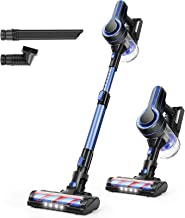 APOSEN Cordless Vacuum Cleaner, 24KPa Powerful Suction 250W Brushless Motor 4 in 1 Stick..