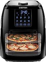 Chefman 6.3 Quart Digital Air Fryer+ Rotisserie, Dehydrator, Convection Oven, 8 Touch..