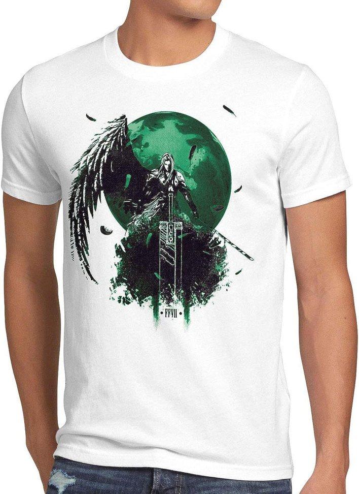 style3 Sephiroth VII Camiseta para Hombre T-Shirt Fantasy Avalanche Juego de rol PS iOS japón