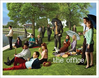 Culturenik The Office Georges Seurat Painting (Dunder Mifflin) Cast Group Workplace..