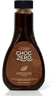 ChocZero's Chocolate Sugar-Free Syrup. Low Carb (1 Gram Net Carb), No Sugar, No Preservatives, No Sugar Alcohols. Thick an...