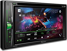 """Pioneer AVH-200EX Multimedia DVD Receiver with 6.2"""" WVGA Display, and Built-in Bluetooth"""