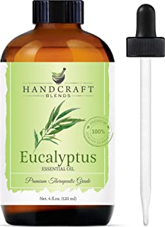 Handcraft Eucalyptus Essential Oil – 100% Pure and Natural – Premium..
