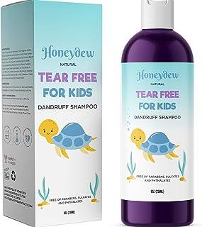 Anti Dandruff Shampoo for Kids – Best Tear Free Natural Children's Scalp Treatment..