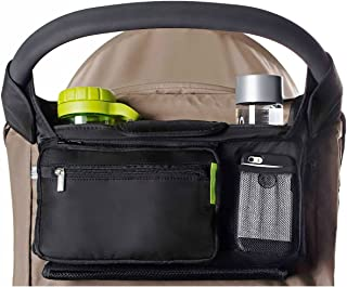 Ethan & Emma Baby Stroller Organizer with Cup Holders – Baby Shower Gift –..