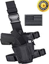 Carlebben Drop Leg Holster Molle Airsoft Holster Thigh Pistol Gun Holster Tactical..