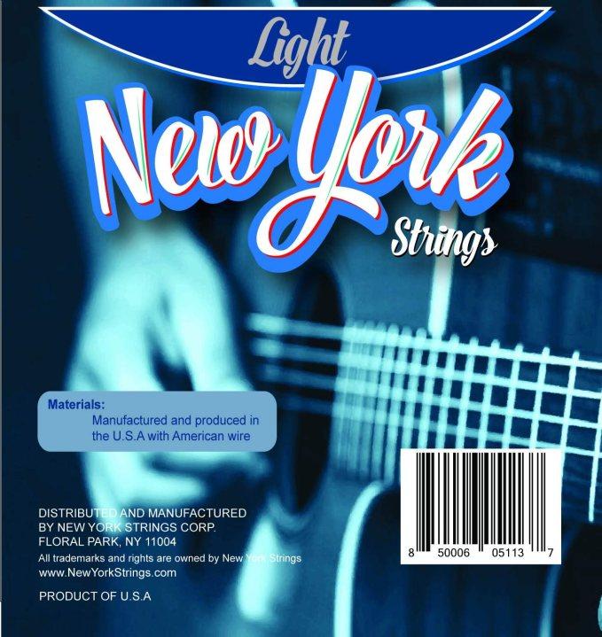 Buy New York Strings Nysa52 Acoustic Guitar Strings Phosphor Bronze Wound Light Innovation Quality The New York Strings Are A Symphony Of Strings Made In Usa Online In Vietnam B084bthlx1