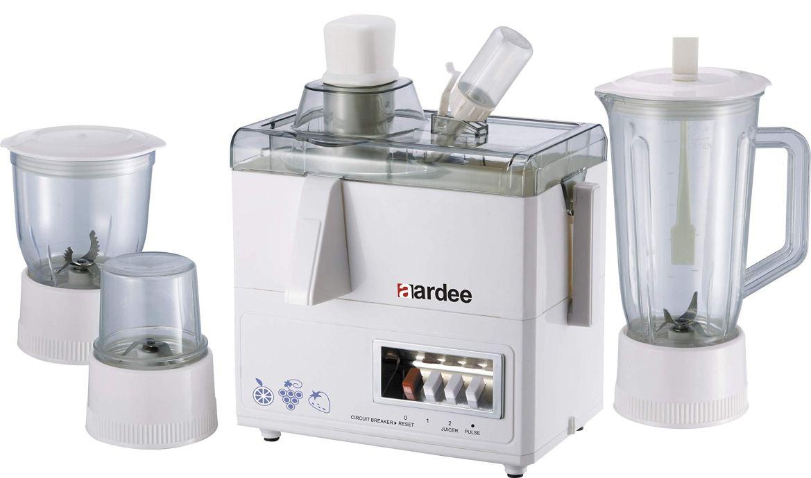 Aardee 4 in 1 Food Processor with Blender, White, ARFPBG-418: Buy Online at  Best Price in UAE - Amazon.ae