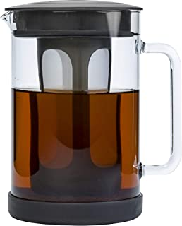 Primula Pace Cold Brew Iced Coffee Maker with Durable Glass Pitcher and Airtight Lid,..