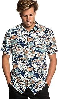 Quiksilver Camisa Manga Corta Feeling Fine Stormy Sea