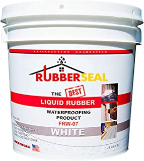 Rubberseal Liquid Rubber Waterproofing and Protective Coating – Roll On White (1..