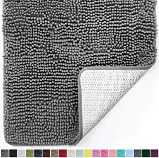 Gorilla Grip Original Luxury Chenille Bathroom Rug Mat, 30×20, Extra Soft and..