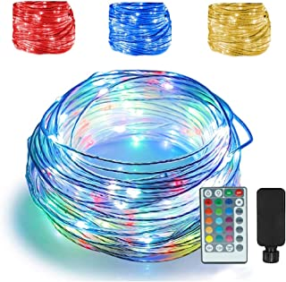 66ft Led Rope Lights Outdoor String Lights with 200 LEDs,16 Colors Changing Waterproof..