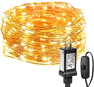 LE String Lights 33ft with 100 LEDs, Waterproof Copper Wire Lights, Outdoor & Indoor..
