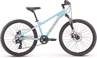 Raleigh Bikes Tokul 24 Kids Mountain Bike for Boys and girls Youth 8-12 Years Old