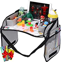 Innokids Kids Travel Lap Tray Children Car Seat Activity Snack and Play Tray Desk with..