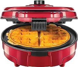 Chefman Anti-Overflow Belgian Waffle Maker w/Shade Selector, Temperature Control Mess..