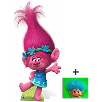Fan Pack Princess Poppy From Trolls Cardboard Cutout Standee Standup Includes 8x10 Star Photo Amazon Co Uk Kitchen Home