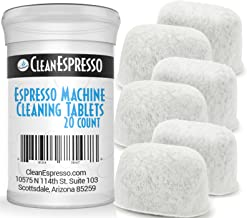 Breville Espresso Machine Cleaning Tablets and Filters – 2 Gram Espresso Cleaning..