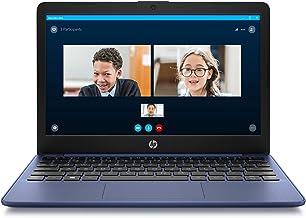 HP Stream 11-inch HD Laptop, Intel Celeron N4000, 4 GB RAM, 32 GB eMMC, Windows 10 Home..