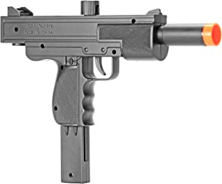 BBTac Airsoft Pistol Uzi Style Spring Loaded Cock and Shoot Single Shot Airsoft Gun