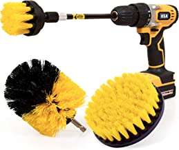 Holikme 4 Pack Drill Brush Power Scrubber Cleaning Brush Extended Long Attachment Set All..