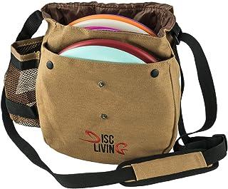 Disc Living Disc Golf Bag   Frisbee Golf Bag   Lightweight Fits Up to 10 Discs   Belt..