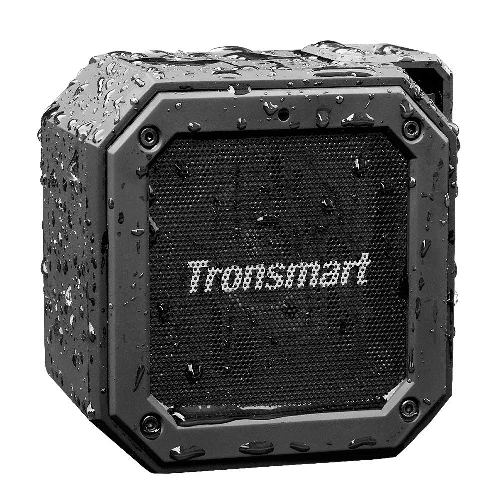 Waterproof Bluetooth Speaker, Tronsmart Groove(Force Mini) Wireless Outdoor Mini 10W Bluetooth Speakers, Bluetooth 5.0, IPX7 Waterproof, 24 Hours Playtime, built in mic and 360° TWS Stereo Sound: Amazon.co.uk: Hi-Fi & Speakers