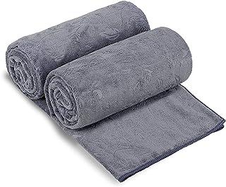 """JML Bath Towels 2 Pack, Oversized Microfiber Bath Towels(30"""" x 60""""), Soft and.."""