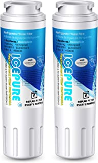 ICEPURE UKF8001 Replacement Whirlpool Filter 4, Everydrop EDR4RXD1, FMM-2, Maytag..