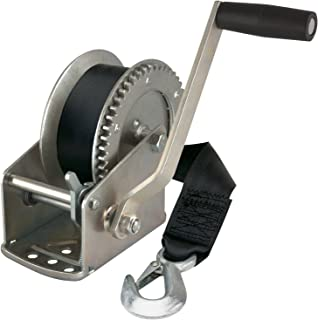 Reese Towpower 74329 Trailer Winch,Silver