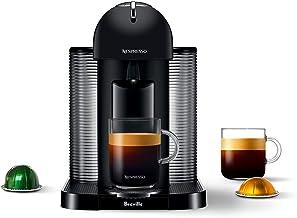 Nespresso Vertuo Coffee and Espresso Machine by Breville, Matte Black