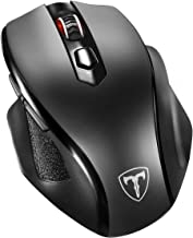 VicTsing Full Size Wireless Mouse with Nano USB Receiver, 5 Adjustable CPI Levels, 6..