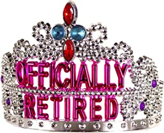 Forum Novelties Officially Retired Retirement Party Tiara