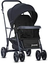 Joovy Caboose Graphite Stroller, Stand on Tandem, Sit and Stand, Black