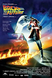 "Back To The Future – Movie Poster (Regular Style) (Size: 24"" x 36"")"