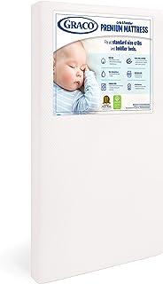Graco Premium Foam Crib and Toddler Mattress in a Box – GREENGUARD Gold Certified,..