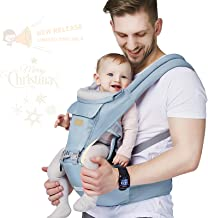 Baby – Carrier, 6-in-1 Baby Carrier with Waist Stool-, FRUITEAM Baby Carrier with..