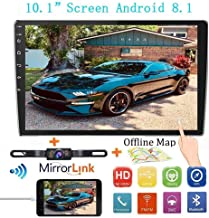 "Double Din Car Stereo Radio Receiver, 10.1"" 2.5D Curved HD Touch Screen Head Unit.."