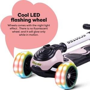 GoodLuck Baybee Smart Skate Scooter for Kids with cool LED