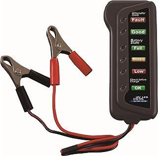 CARTMAN 12V Car Battery & Alternator Tester – Test Battery Condition &..