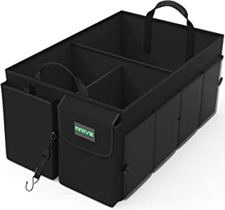 Drive Auto Products Car Cargo Trunk Organizer, Folding Compartments Are Easily Expandable..