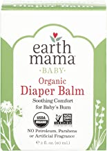 Organic Diaper Balm by Earth Mama | Safe Calendula Cream to Soothe and Protect Sensitive..
