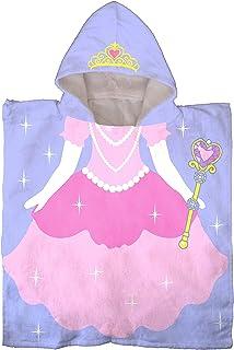 Jay Franco Trend Collector Princess Kids Bath/Pool/Beach Hooded Poncho Towel –..