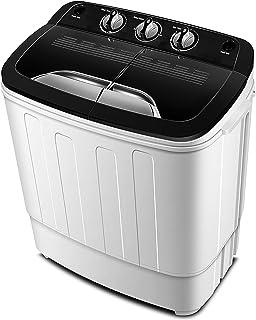 Portable Washing Machine TG23 – Twin Tub Washer Machine with 7.9lbs Wash and 4.4lbs..