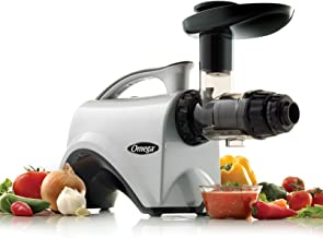 Omega NC800HDS Juicer Extractor and Nutrition Center Creates Fruit Vegetable and..