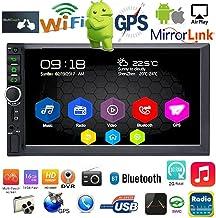 Binize 7 Inch Android 9.1 HD Quad-Core 2 Din Car Stereo Radio Multimedia Player NO-DVD..