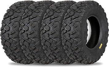 Weize All Terrain ATV Tires, Front 25×8-12 / 25x8x12 & 25×10-12 / 25x10x12..