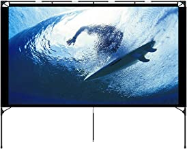 Outdoor Projector Screen – Foldable Portable Outdoor Front Movie Screen, Setup..