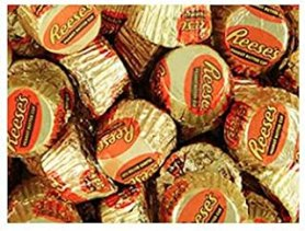 Gold & Orange Mini Reese's Peanut Butter Cups Candy 5LB Bag
